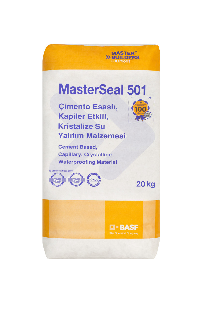 MasterSeal 501 (гидроизоляционный состав проникающего действия для уплотнения структуры бетона), фото 1