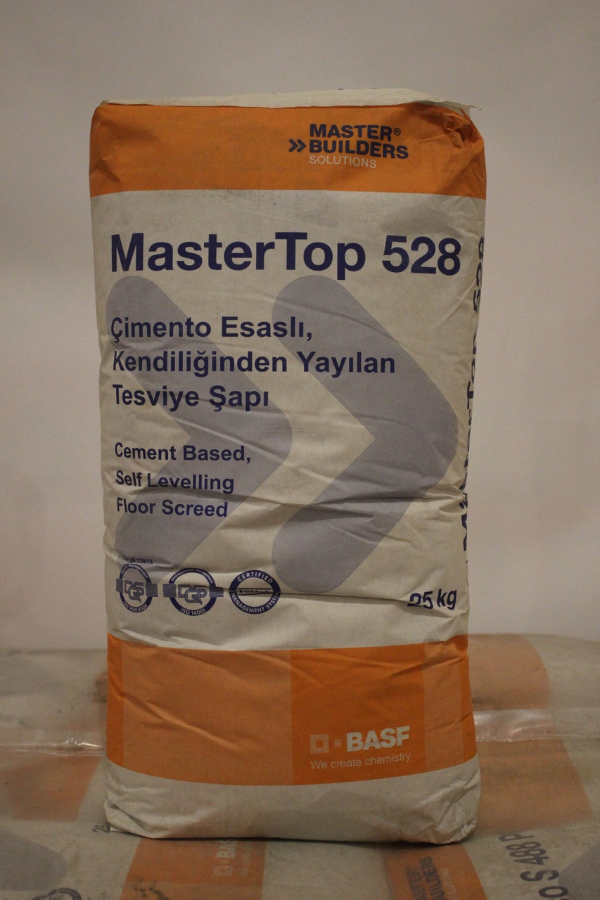 MasterTop 528 (сухая смесь для обустройства стяжек)