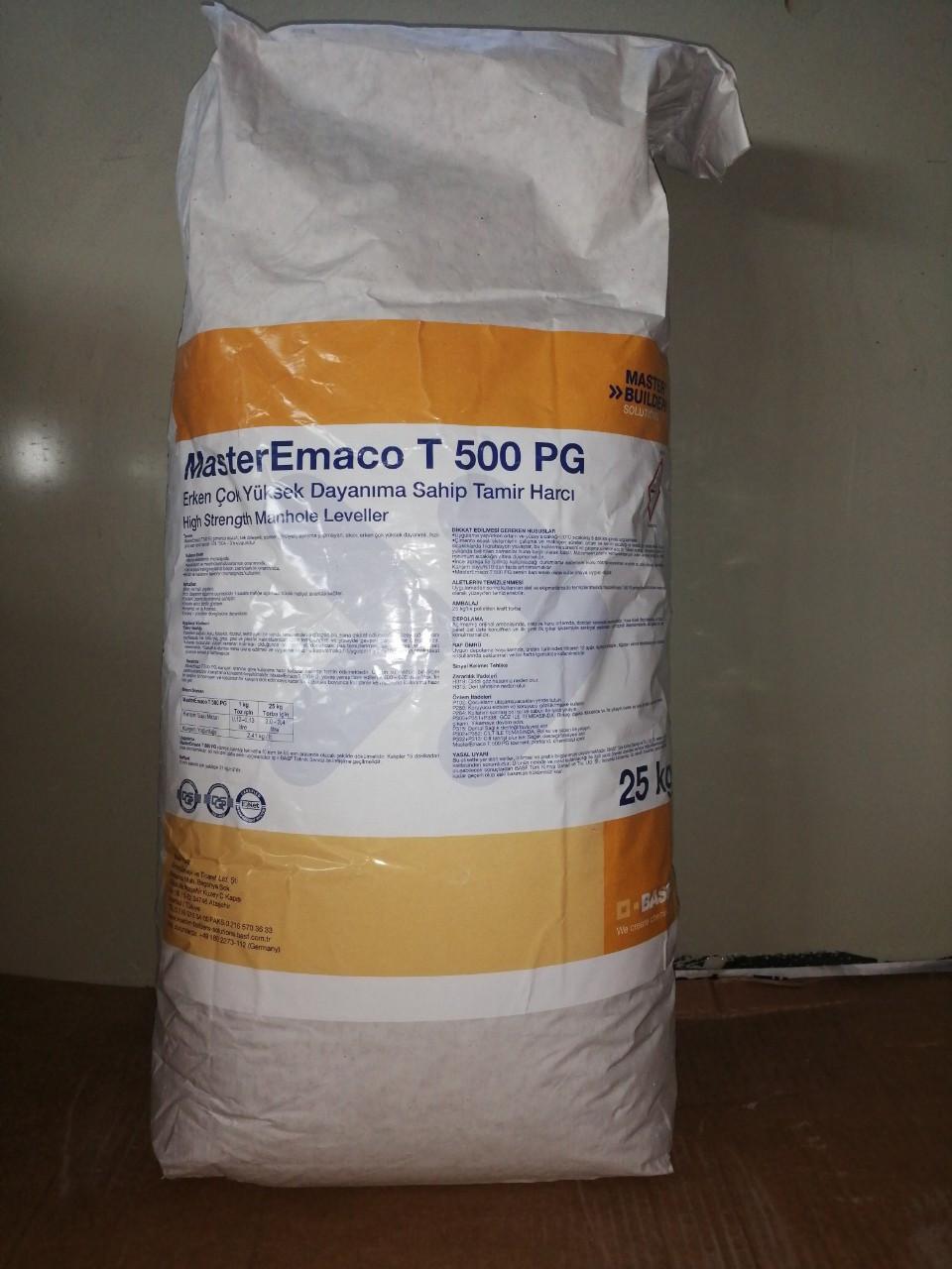 MasterEmaco T 500 PG (Высокопрочная сухая смесь наливного типа)