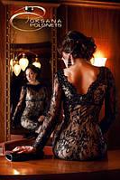 Платье коктейльное черное, фото 1