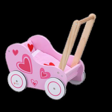 Ходунки коляска деревянная Classic World CW2812, фото 2