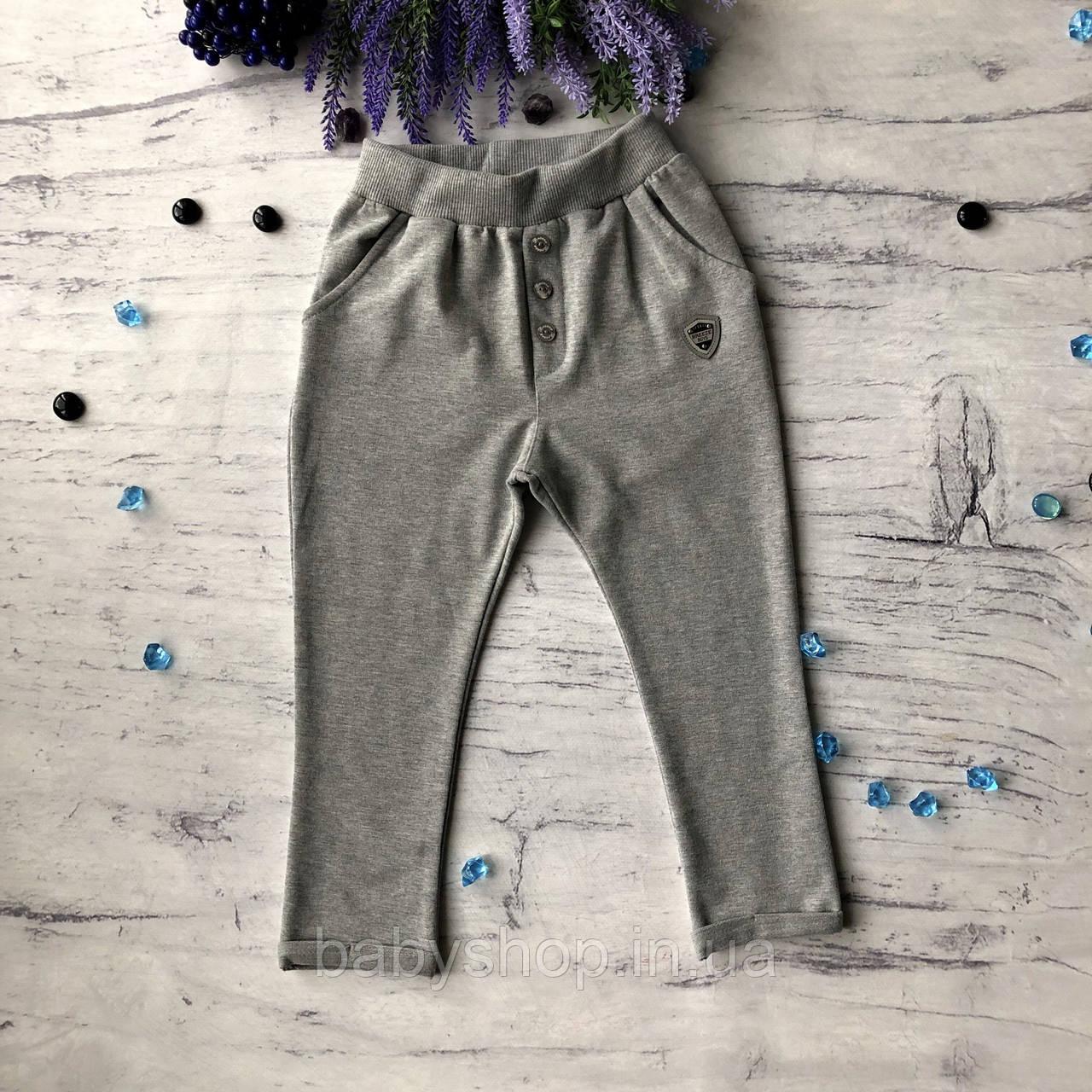 Серые штаны для мальчика Breeze 12. 122 см, 128 см