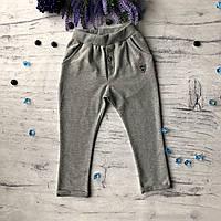 Серые штаны для мальчика Breeze 12. 104 см, 110 см, 116 см, 122 см, 128 см