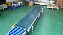 Транспортер (конвейер) ленточный для штучных грузов типа ТЛПШ