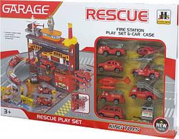 """Игровой набор Паркинг MAYA TOYS """"Пожарная служба"""" (566-4)"""