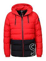 Оригинальная Куртка Двухсторонняя Мужская MMA-9161 Red/Black