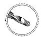 Сверло - метчик М10 с шестигранным хвостовиком, фото 2