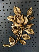 Роза для надгробного памятника 18х13 см.