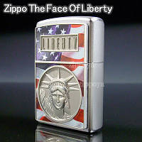 Зажигалка Zippo 21074 The Face of Liberty (Статуя Свободы)