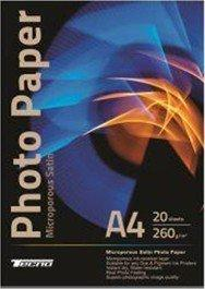 Бумага Tecno Satin Superior Premium, 260g/m2, A4, 20л