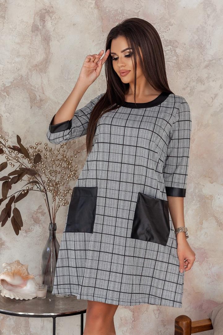 Женское модное платье  НВ495 (норма)