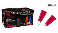 Ланцеты Веллион (Wellion) SafetyLancets 18G 200 штук