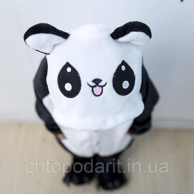 """Пижама Кигуруми детский   """"Панда"""" Код 10-4121"""