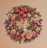 """Набор для вышивания крестом """"Wreath of Roses//Венок из роз"""" DIMENSIONS"""