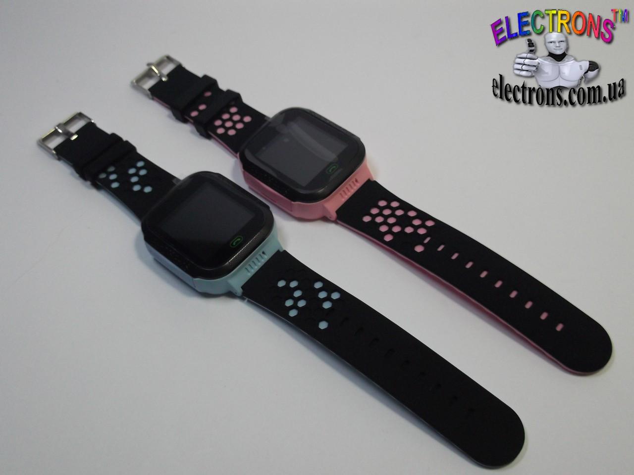 Детские смарт часы (Smart watch) Q528 сенсорные с фонариком и математической игрой для детей телефон, часофон