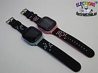 Детские смарт часы (Smart watch) Q528 сенсорные с фонариком и математической игрой для детей телефон, часофон, фото 1