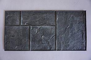 """Полиуретановый штамп для бетона """"Сланец №2"""" (на 5 камней) для пола и дорожек"""