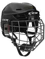 Шлем CCM TACKS 310 с решеткой, Размер M, черный, T310C-B-M