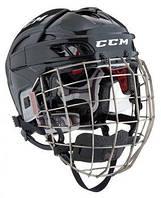 Шлем CCM FITLITE с решеткой, Размер M, черный, FTLC-B-M