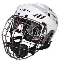 Шлем CCM FITLITE 80 с решеткой, Размер L, белый, FTL80C-W-L