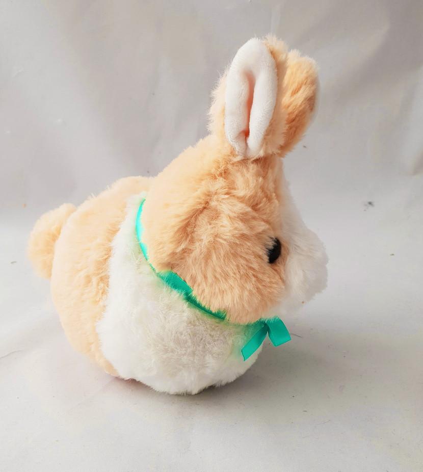 Плюшевая детская игрушка кролик 20 см