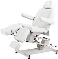 Педикюрно–косметологическая кресло-кушетка 3706 на электрическом подъемнике