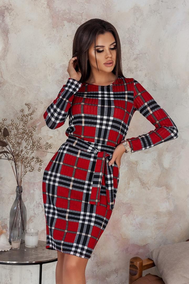 Женское модное платье  НВ496 (норма)