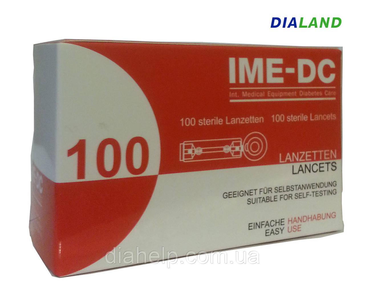 Ланцеты ИМЕ-ДИСИ ( IME-DC ) 100 штук