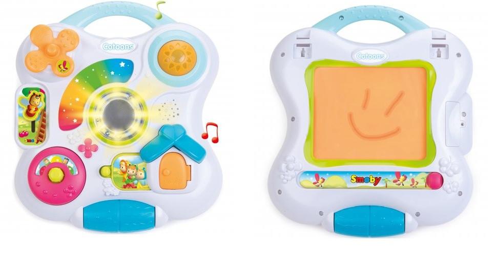 """Интерактивная игрушка для малышей """"Творческая панель"""" Smoby 110413"""
