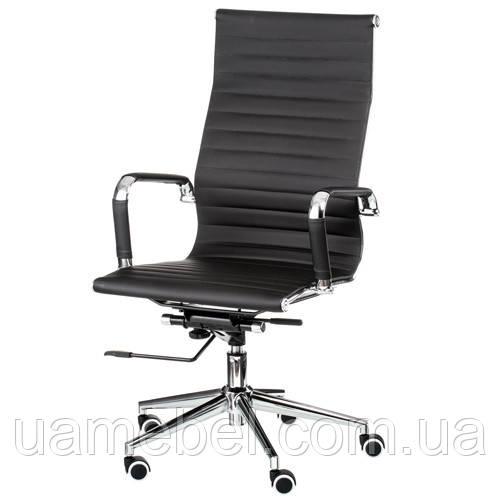 Кресло для руководителя Solano artleather black E0949