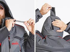 Зимний мужской костюм с электроподогревом Norfin Discovery Heat -40С, фото 2