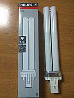PL-S G23/2p 9W/10 лампа  ультра-фиолетовая