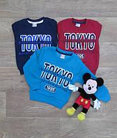 Турецкий джемпер на мальчика, трехнитка,Детские Свитеры  Джемперы и Кофты,Детская одежда из Турции