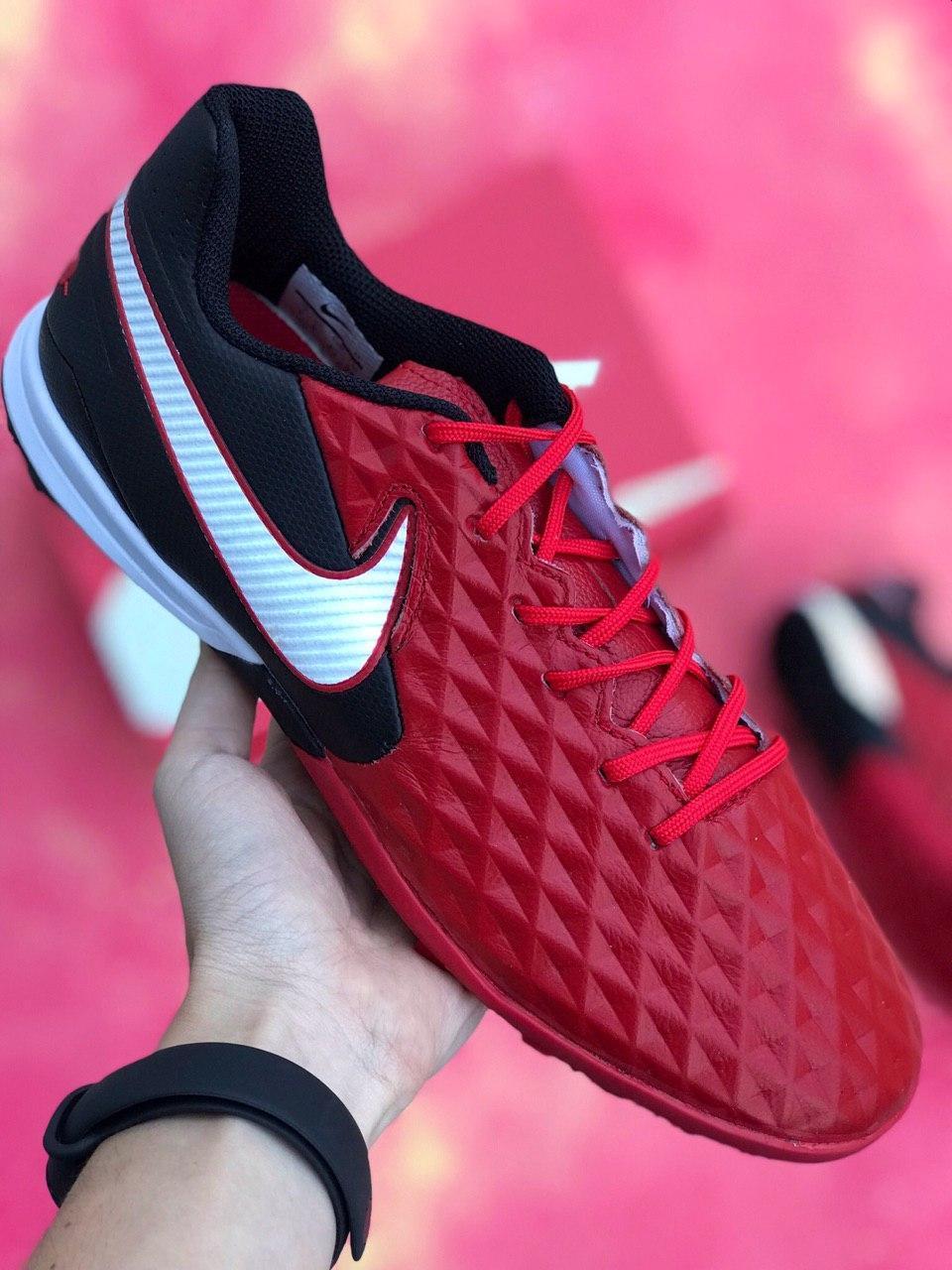 Сороконожки футбольные Nike Tiempo Legend 8 Красные