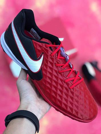 Сороконожки футбольные Nike Tiempo Legend 8 Красные, фото 2