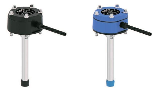 Емкостный датчик уровня серии ECAPr 408T для клейких, кислотных, лужных материалов