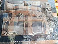 Комплект постельного белья двуспальный 100% хлопок Тиротекс сублимация Виски