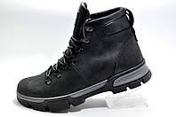 Зимние ботинки на меху Ботус, (Black)