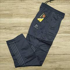Штаны  спортивные мужские  AO Longcom 0362-3 размеры XL-5L синие МТ-149203