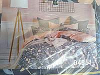 Комплект постельного белья полуторный 100% хлопок Тиротекс сублимация 04951
