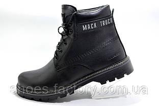 Зимние ботинки на меху Ботус черные