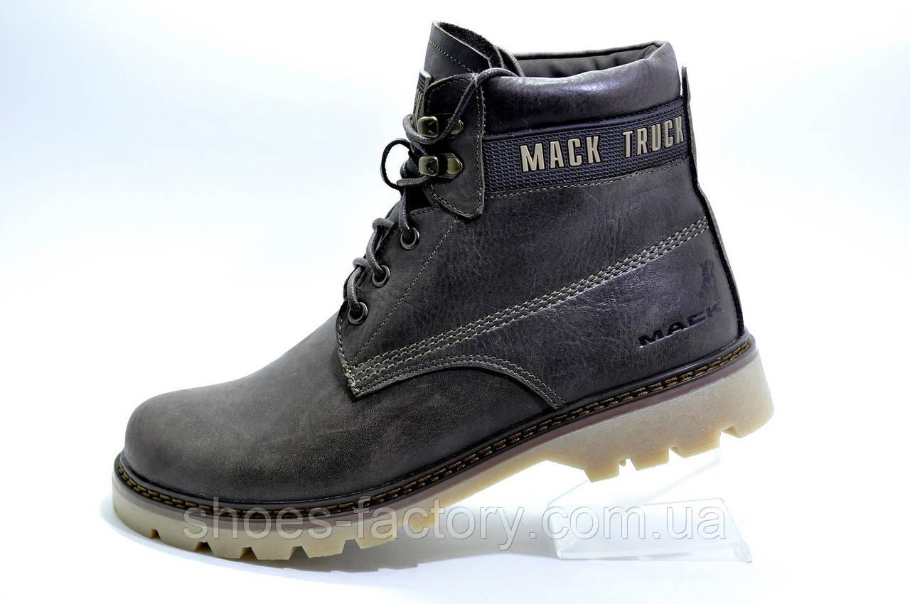 Зимние ботинки Ботус, мужские на меху (Black)