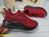 Кроссовки женские бордовые текстильные в стиле найк Nike Air Max 720, фото 1