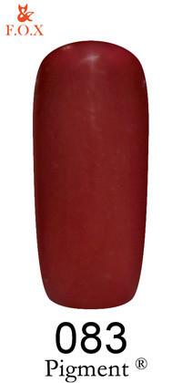 Гель-лак F. O. X Pigment №83, 6 мл
