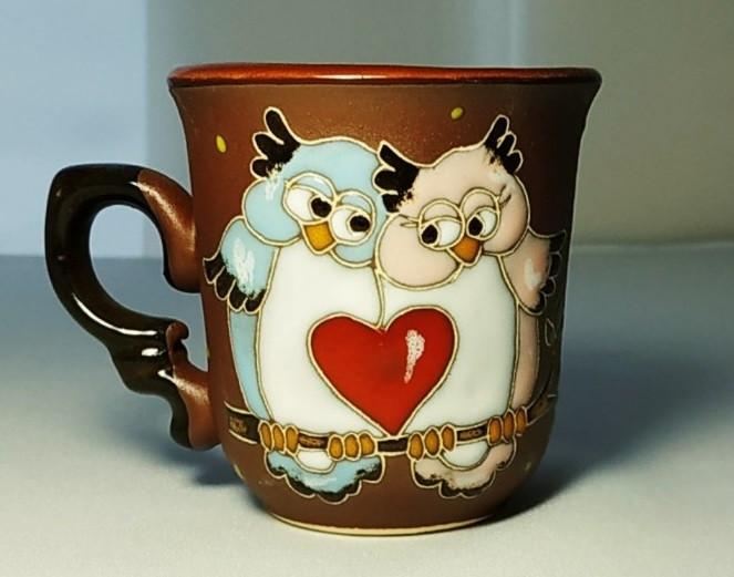"""Чашка кофейная 150 мл """"Совы с сердцем"""""""