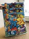 Подарочный детский бумажный пакет КВАДРАТ ''Мультик''  (24*24*10), фото 2