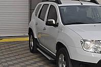 """Пороги, подножки """"X-5 тип"""" Dacia Duster"""