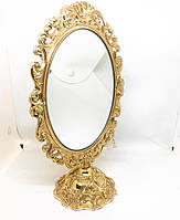 Настольное зеркало MCA Vizyon из мельхиора с позолотой 2