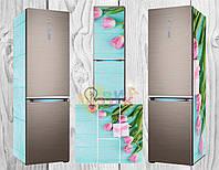 Виниловая наклейка на холодильник Гламур