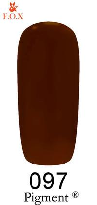 Гель-лак F.O.X Pigment №97, 6 мл